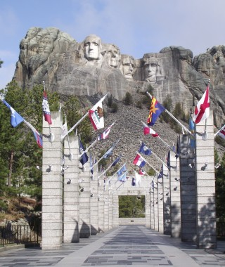 Mount Rushmore Gates