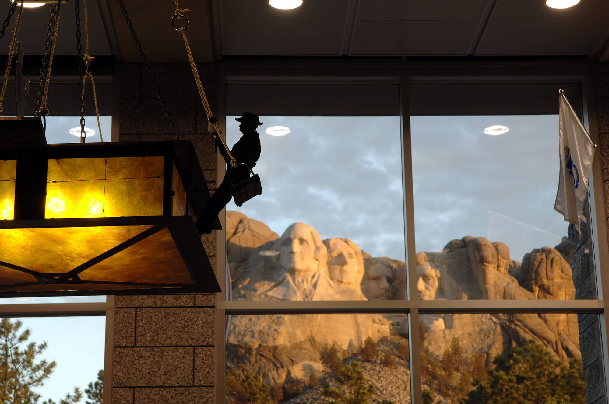 Mt.Rushmore Window View