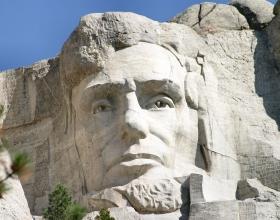 President Abe Lincolns Face